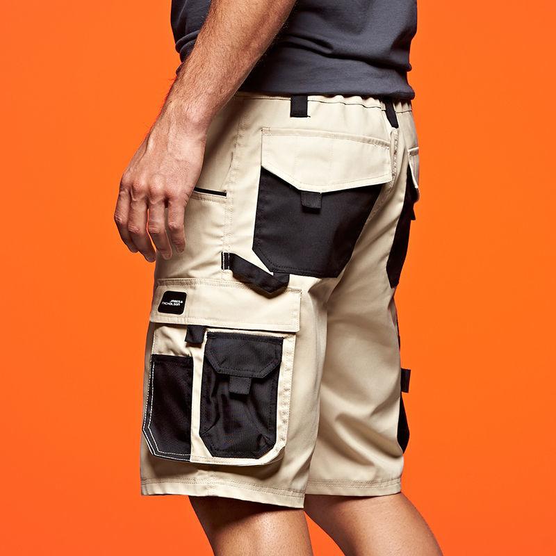 Short de travail publicitaire loowe shorts et bermudas personnalis s kelcom - Short de travail homme ...
