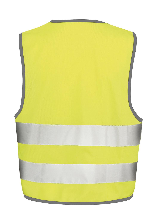 d4fbc3226706f ... Gilet de sécurité enfant publicitaire | Core Junior Safety Vest  Fluorescent Yellow ...