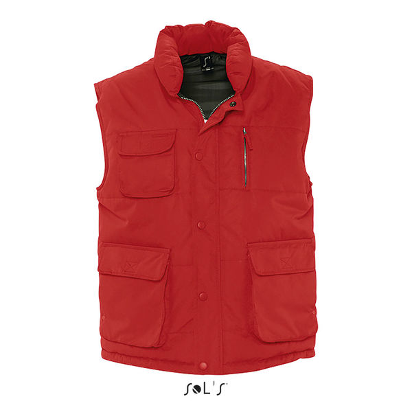 Bodywarmer Publicitaire - Viper Rouge