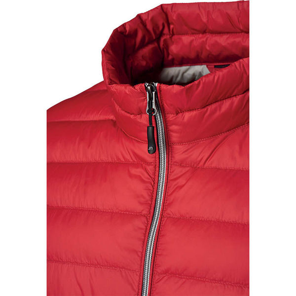 Tootte | Bodywarmer Publicitaire Rouge Argent