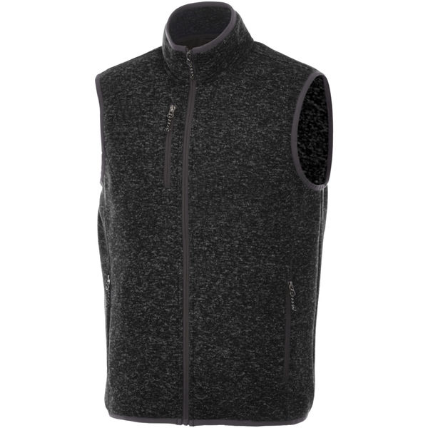 Bodywarmer personnalisé Fontaine Heather smoke