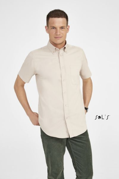 Chemise publicitaire homme manches courtes | Brooklyn