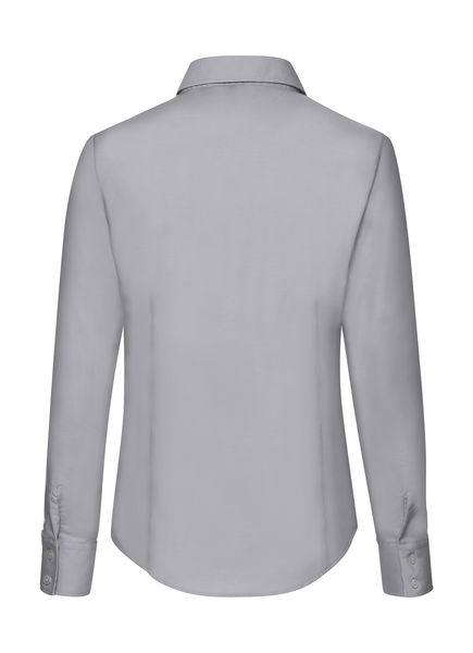 Homme Barnet manches longues Heather Popeline Chemise Casual Formel Business Robe Chemise