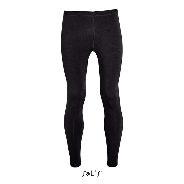 Legging publicitaire running homme | London Men Noir