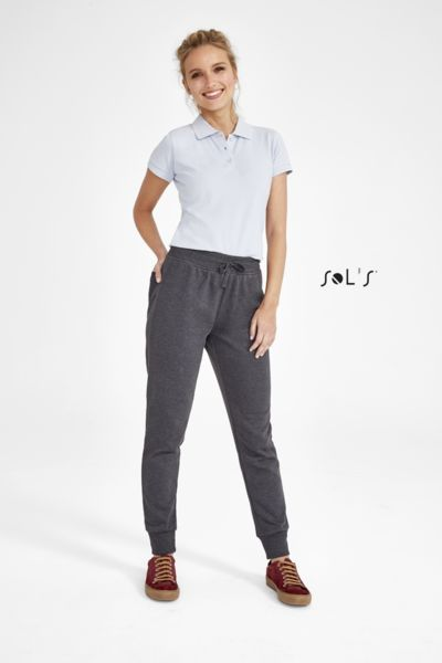 Pantalon jogging publicitaire femme coupe slim | Jake Women