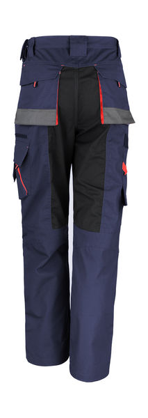 Pantalon publicitaire homme | Work-Guard Technical Trouser Navy Black