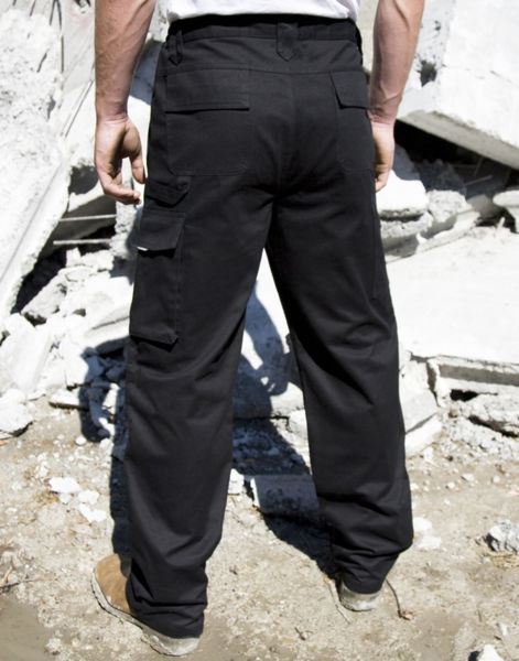 Pantalon personnalisé homme | Work-Guard Action Reg Black