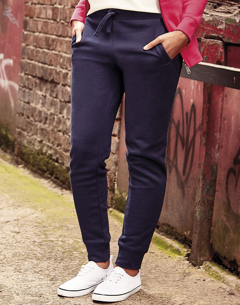 Pantalon training publicitaire femme | Labelle French Navy 4