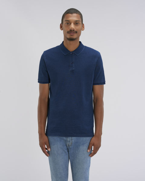 Polo denim homme  | Stanley Dedicator Denim Dark Washed Indigo