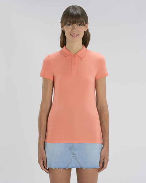 Polo femme | Stella Devoter Sunset Orange
