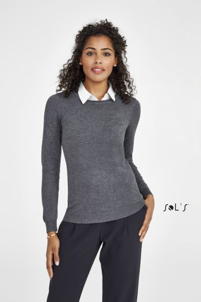 Pull personnalisé col rond femme | Ginger Women