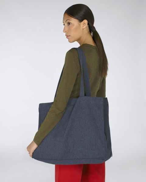 Cabas en toile | Shopping Bag Midnight Blue