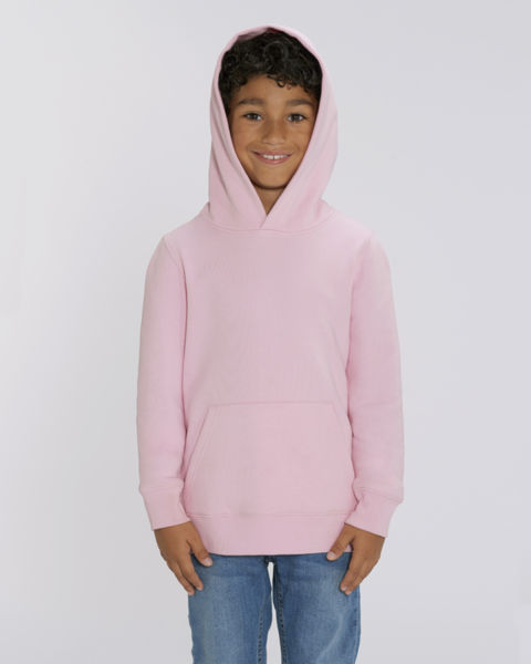Sweat-shirt capuche iconique enfant | Mini Cruiser Cotton Pink 1