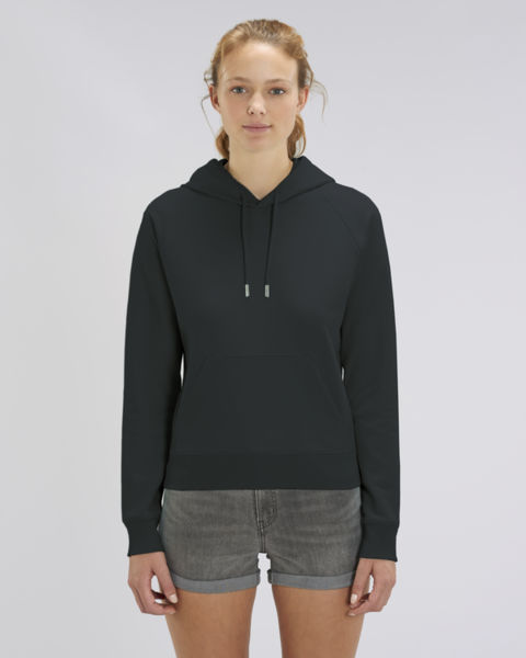 Sweat-shirt capuche iconique femme | Stella Trigger Black