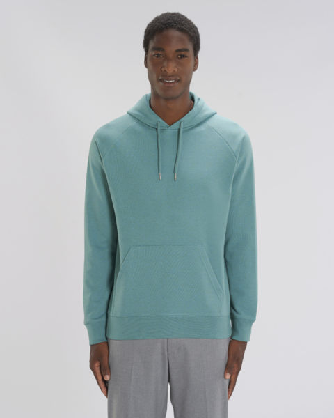 Sweat-shirt capuche iconique homme | Stanley Flyer Heather Eucalyptus