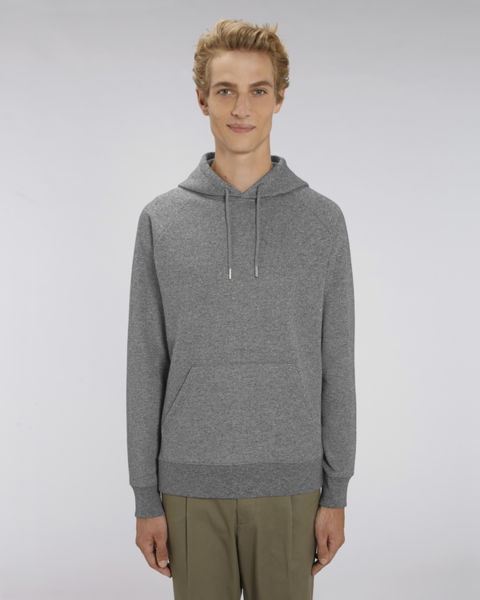 Sweat-shirt capuche iconique homme | Stanley Flyer Marble Slub Heather Black