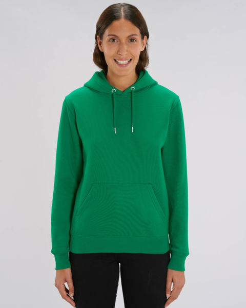 Sweat-shirt capuche iconique unisexe | Cruiser Varsity Green 1
