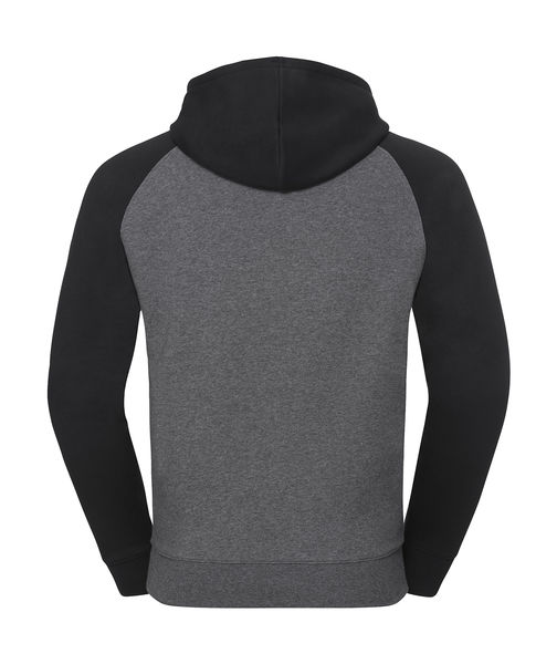Sweat-shirt capuche publicitaire | Astoria Carbon Melange Black