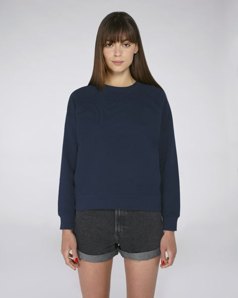 Sweat-shirt col montant femme | Stella Believes French Navy