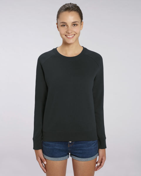 Sweat-shirt col rond iconique femme  | Stella Tripster Black