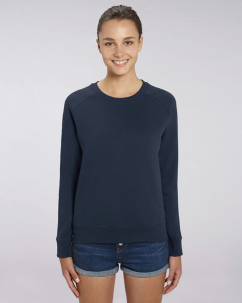 Sweat-shirt col rond iconique femme  | Stella Tripster French Navy