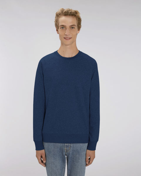 Sweat-shirt col rond iconique homme  | Stanley Stroller Black Heather Blue