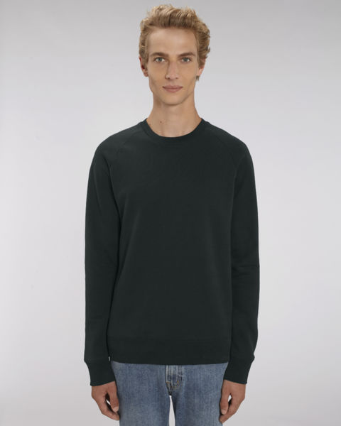Sweat-shirt col rond iconique homme  | Stanley Stroller Black