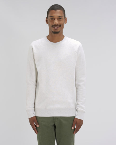 Sweat-shirt col rond iconique homme  | Stanley Stroller Cream Heather Grey
