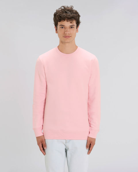 Sweat-shirt col rond iconique unisexe | Changer Cotton Pink