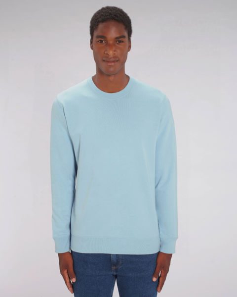 Sweat-shirt col rond iconique unisexe | Changer Sky Blue