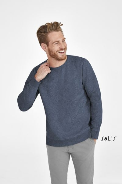 Sweat-shirt publicitaire unisexe col rond | Sully