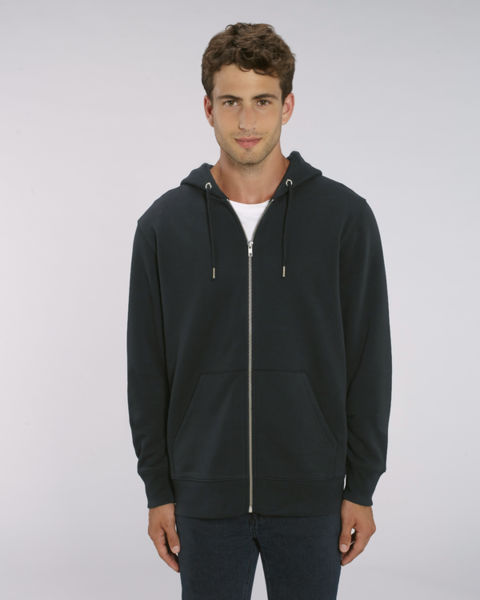 Sweat-shirt zippé capuche iconique homme | Stanley Cultivator Black