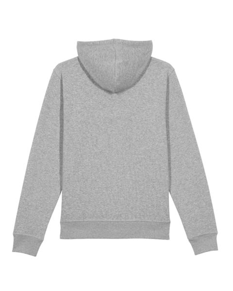 Sweatshirt à capuche personnalisable | Drummer Heather Grey