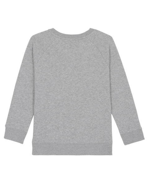 Sweatshirt à col rond publicitaire | Mini Scouter Heather Grey