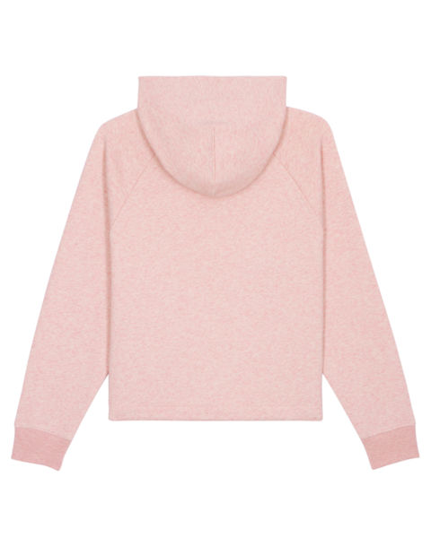Sweatshirt à capuche personnalisé | Stella Bower Cream Heather Pink