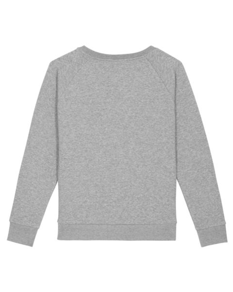 Sweatshirt personnalisable à col rond | Stella Dazzler Heather Grey