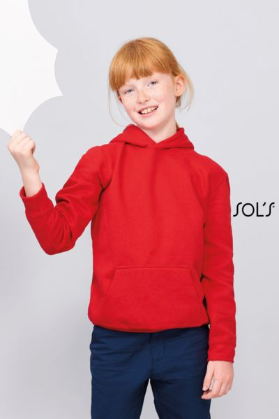 Sweat-shirt publicitaire enfant à capuche | Slam Kids