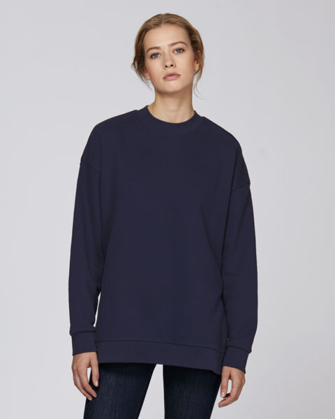 Sweat-shirt long femme  | Stella Achieves French Navy
