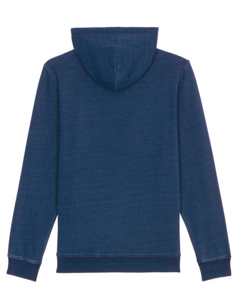 Sweatshirt à capuche personnalisable | Cruiser Denim Mid Washed Indigo