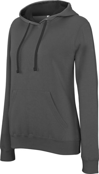 Kitu | Sweatshirt publicitaire Dark Grey Black