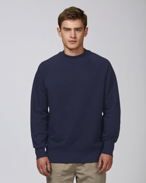 Sweat-shirt col montant homme | Stanley Trusts French Navy