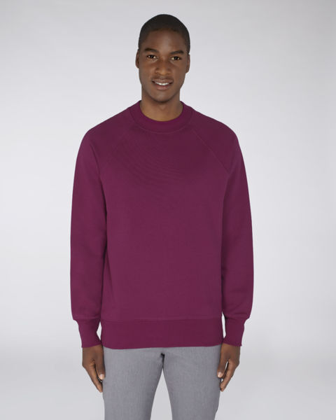 Sweat-shirt col montant homme | Stanley Trusts Purple Led