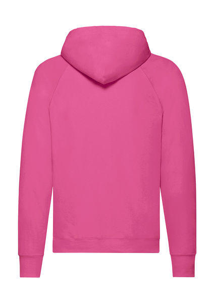Sweatshirt publicitaire homme manches longues avec capuche | Lightweight Hooded Sweat Fuchsia