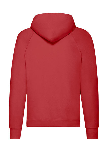 Sweatshirt publicitaire homme manches longues avec capuche | Lightweight Hooded Sweat Red