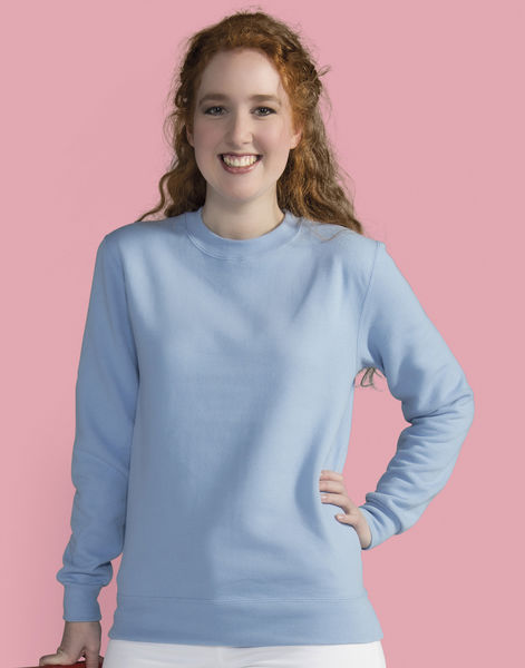 Sweatshirt publicitaire femme manches longues | Whitefield Sky 2