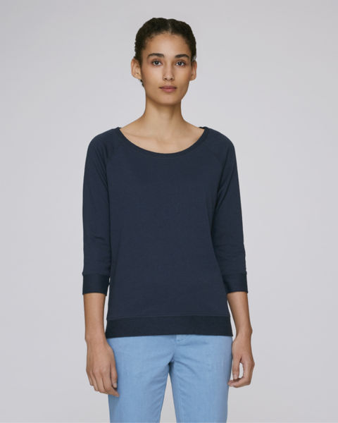 Sweat-shirt tencel femme | Stella Amazes Tencel French Navy