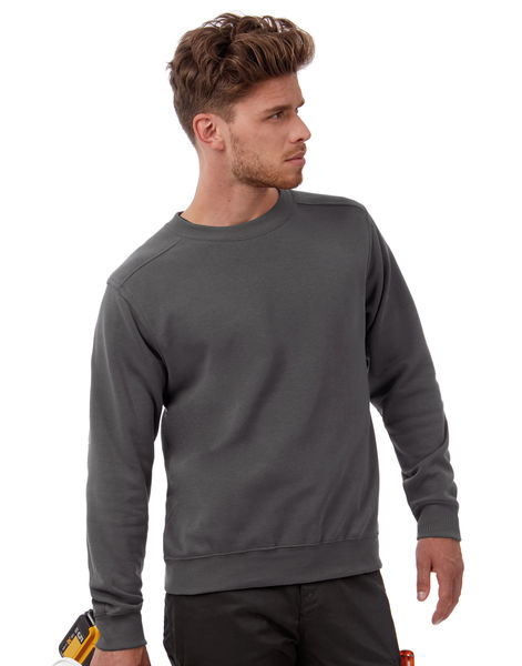 Sweat-shirt publicitaire | Hero Pro Workwear Sweater Dark Grey 2