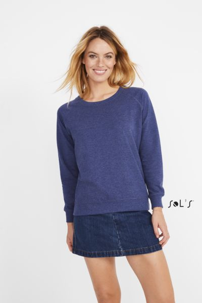 Sweat-shirt publicitaire femme french terry | Studio Women 1