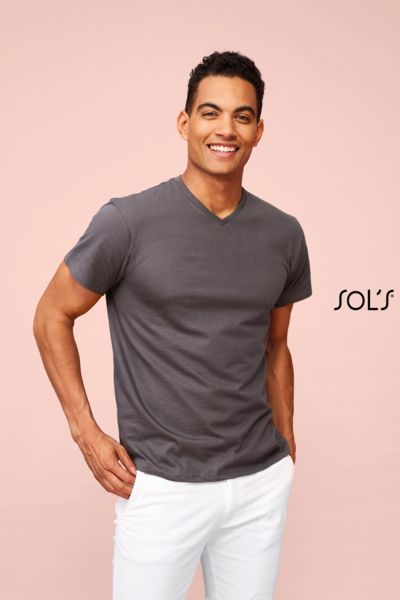 Tee-shirt publicitaire homme col ''v'' | Victory
