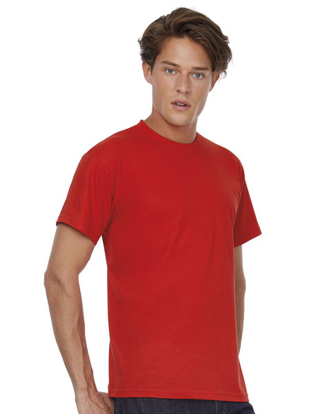 T-shirt publicitaire homme manches courtes | Exact 150 Red 1